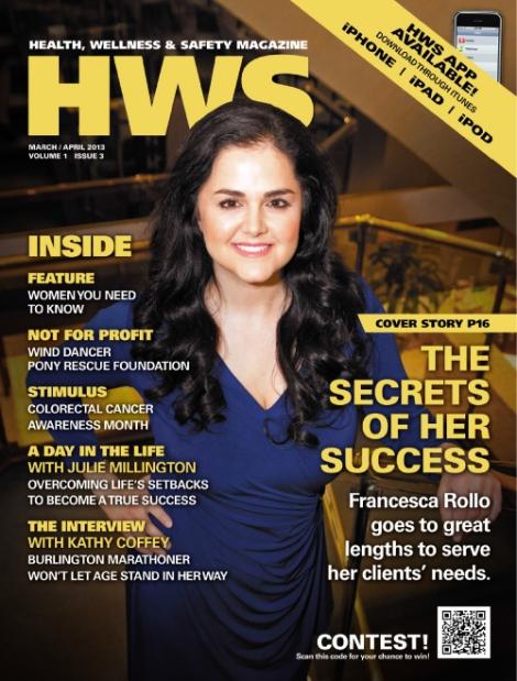 Health, Wellness & Safety Magazine - Julie Millington